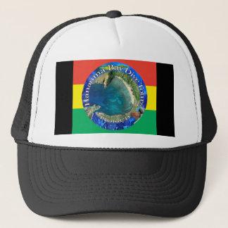 Hanauma湾の飛び込みはレゲエの帽子を旅行します キャップ