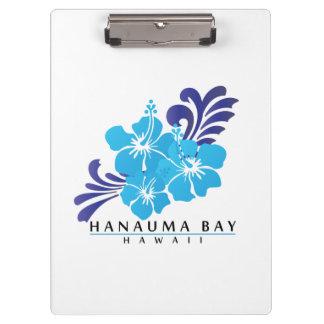 Hanauma湾ハワイ クリップボード