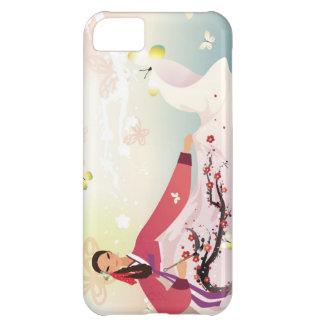 hanbokの韓国の女性 iPhone5Cケース