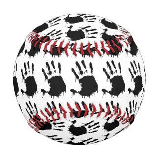 Handprintsの黒い野球 野球ボール