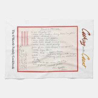 Handwritten Marinade Recipeママの キッチンタオル