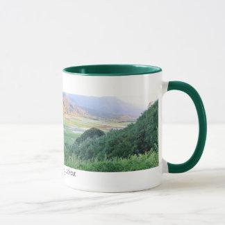 Haneleiの谷の眺望 マグカップ