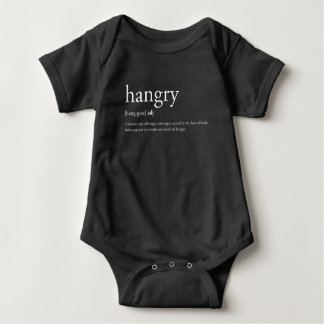 Hangry ベビーボディスーツ