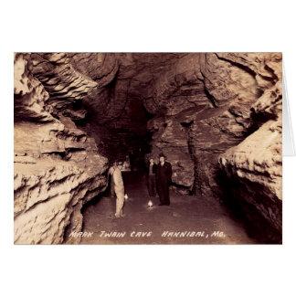 Hannibalミズーリの披露宴ホールのマーク・トウェインの洞窟 カード