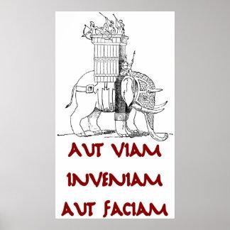 Hannibal Aut Viam Inveniam Aut Faciam ポスター