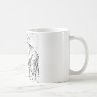 、HannoレオX Elephant Raphaelによる法皇 コーヒーマグカップ