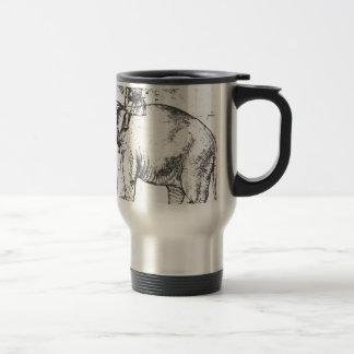 、HannoレオX Elephant Raphaelによる法皇 トラベルマグ