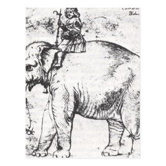 、HannoレオX Elephant Raphaelによる法皇 ポストカード
