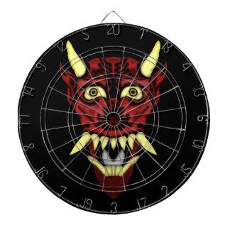 hannyaの鬼のマスク ダーツボード
