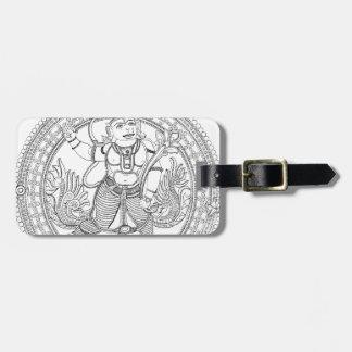 Hanuman ラゲッジタグ