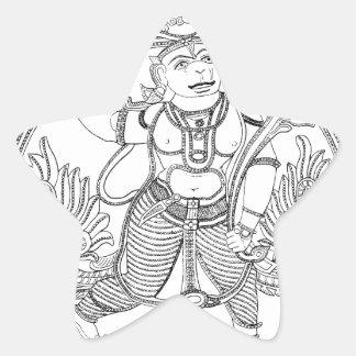 Hanuman 星シール