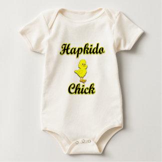 Hapkidoのひよこ ベビーボディスーツ
