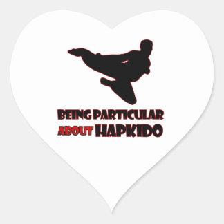 Hapkidoのデザイン ハートシール