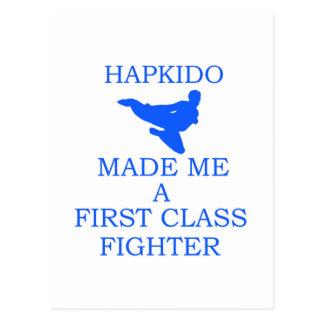 Hapkidoのデザイン ポストカード