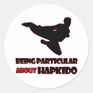 Hapkidoのデザイン ラウンドシール