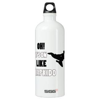 Hapkidoの戦いのデザイン ウォーターボトル