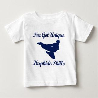 hapkidoの武道のデザイン ベビーTシャツ