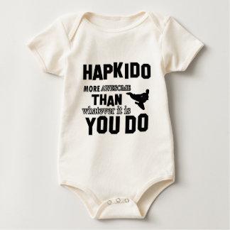 Hapkidoは素晴らしいです ベビーボディスーツ