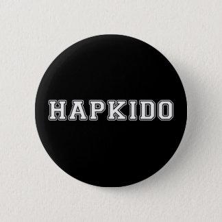 Hapkido 5.7cm 丸型バッジ