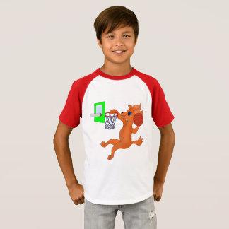 happyのJuul Company著幸せなバスケットボール Tシャツ