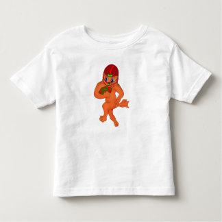 happyのJuul Company著幸せなフットボール トドラーTシャツ