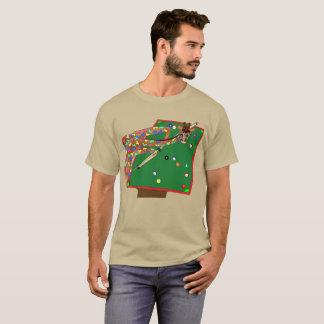 happyのJuul Company著幸せなプール Tシャツ