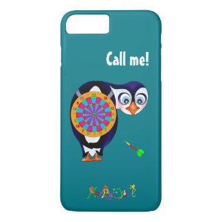happyのJuul Company著投げ矢のペンギン iPhone 8 Plus/7 Plusケース