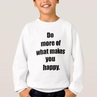 happy2を作るものがの多くをして下さい スウェットシャツ