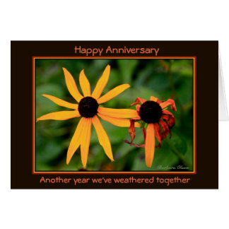 Happy Anniversary: Another year we've weathered カード