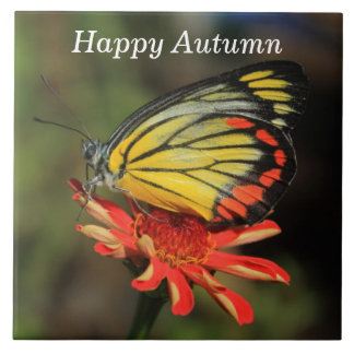 Happy Autumn Butterfly タイル