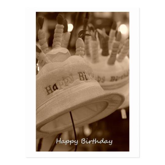 happy birthday ポストカード