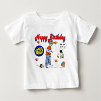Happy_BirthDay_Over_The_Hill. ベビーTシャツ