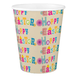 Happy Easter Party Cups 紙コップ