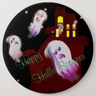 Happy Hallo- Booween 15.2cm 丸型バッジ