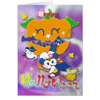 Happy Halloween グリーティングカード