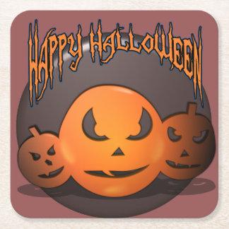 Happy Halloween スクエアペーパーコースター