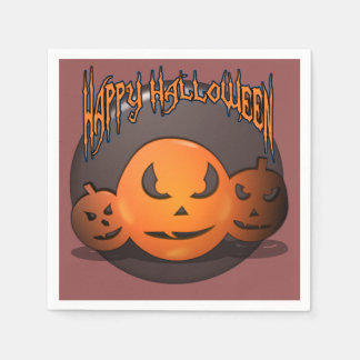Happy Halloween スタンダードカクテルナプキン