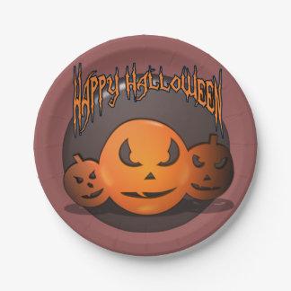 Happy Halloween ペーパープレート