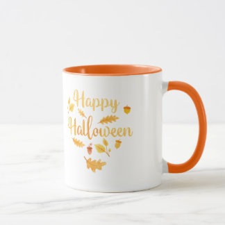 Happy Halloween Autumn Mug マグカップ