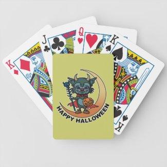 happy Halloween トランプカード