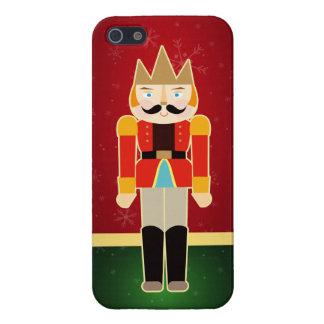 happy Holidaysくるみ割りのSoliderの愛らしい王子 iPhone 5 Cover
