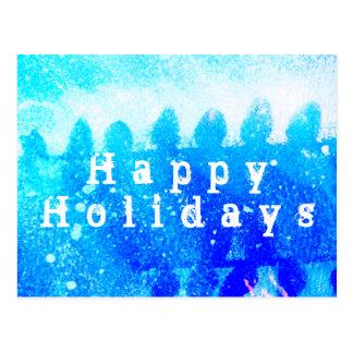 HAPPY HOLIDAYS ! ポストカード