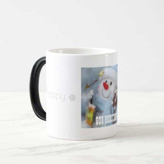 Happy Holidays:Morphing mug cup(The Snowman) モーフィングマグカップ