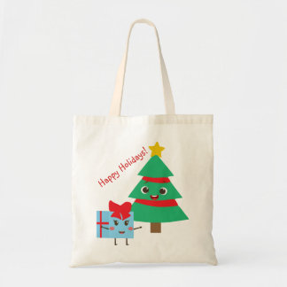Happy Holidays Tote トートバッグ