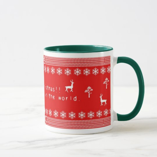 Happy merry Christmas!! マグカップ