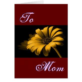 Happy Mother's Day Orange Yellow Daisy III Cards