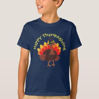 "Happy Turkey ""Happy Thanksgiving"" - Tee Tシャツ"