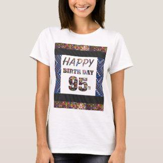 happybirthdayハッピーバースデー95 95第95 tシャツ
