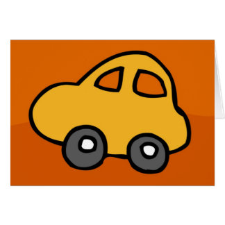 HappyHolidaysの小型小型車幸せな休日 カード