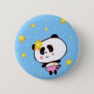 Harajukuのパンダのファッションのかわいいパンダ 5.7cm 丸型バッジ